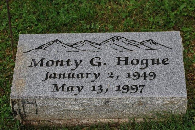 Grave of Monty Hogue